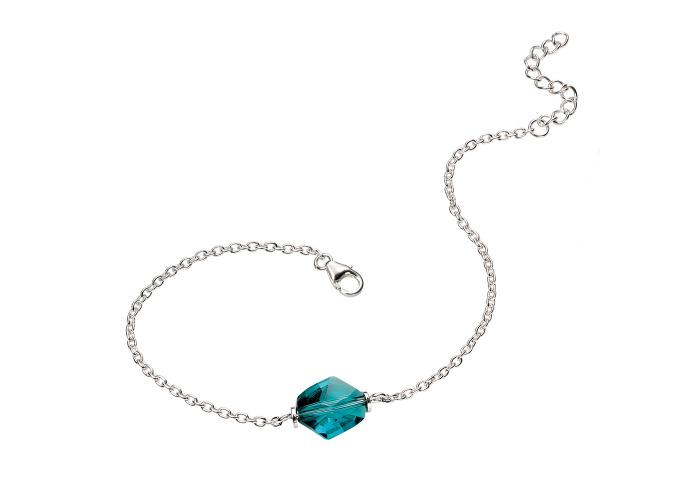 Persona Turquoise Swarovski Crystal Bracelet - 1