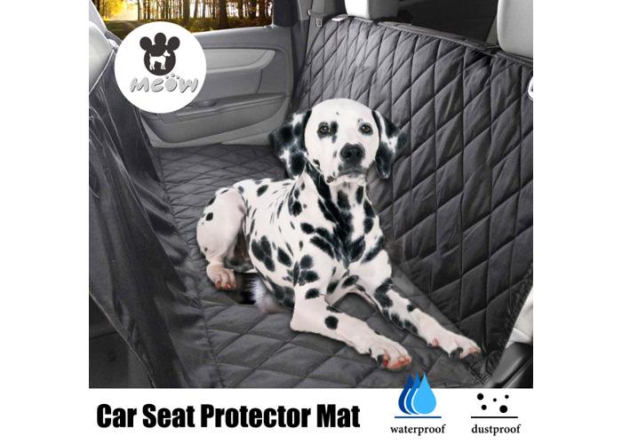 Pet Car Back Seat Cover Dog Cat Waterproof Hammock Protector Mat Blanket Pet Mat - 2