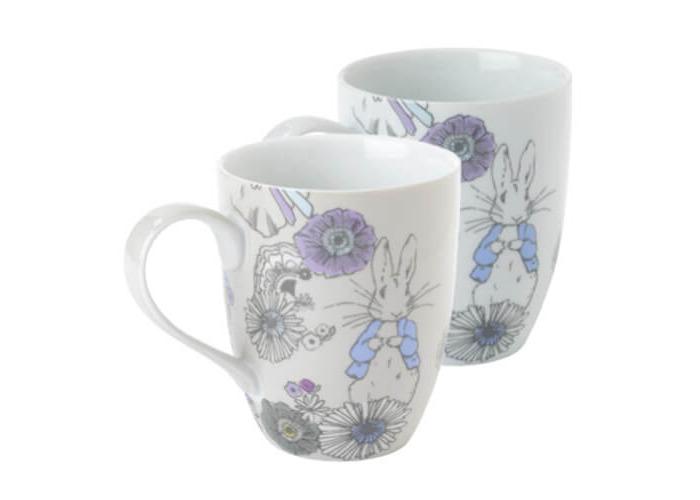 Peter Rabbit Contemporary Mug Set of 2 - 1