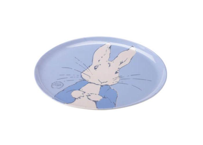 Peter Rabbit Contemporary Round Melamine Tray - 1