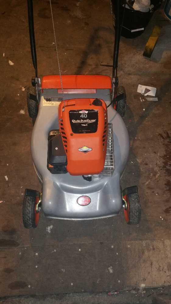 Petrol lawnmower - 1