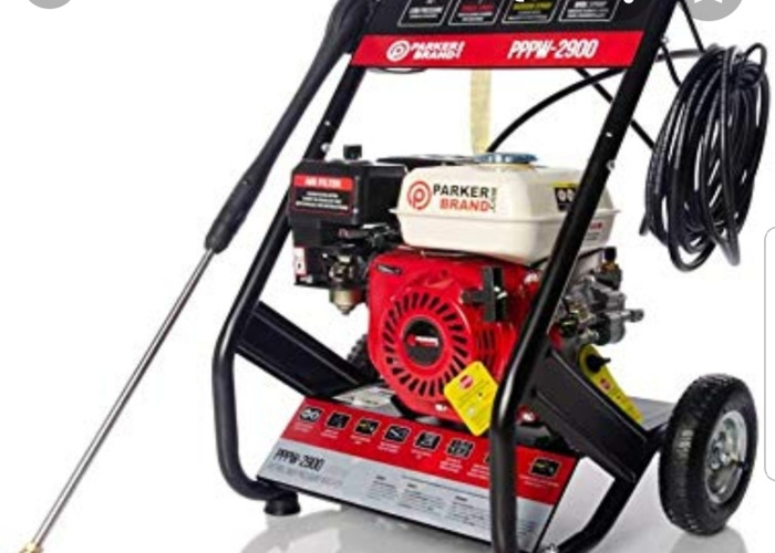 Petroll pressure washer with interchangable nozzles - 1