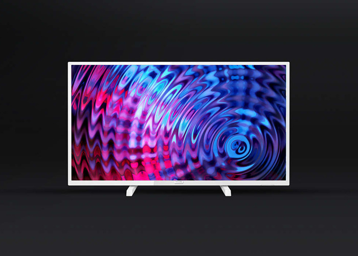 32 Inch Full HD LED TV Philips  + Legs + Wall Mount - Exhibition Screen - 2