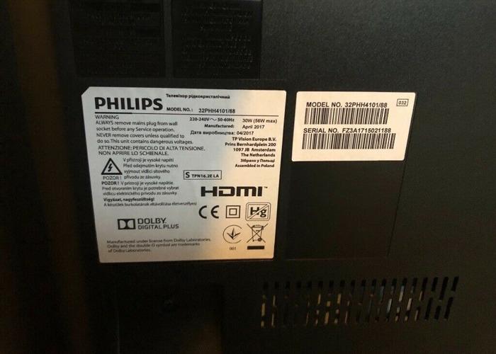 """Philips 32"""" TV - 2"""