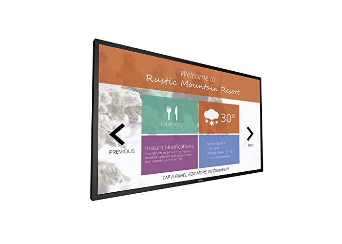 Philips 75BDL3010T/00 Signage Solutions Multi-Touch Display - Black - 1