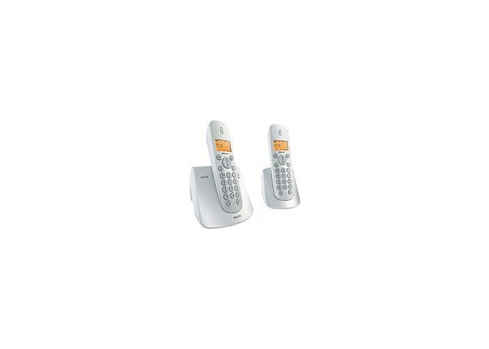 Philips Original 1+1 Duo Cordless Phone 1 set (2 cordless phones) by minevra trading - 1