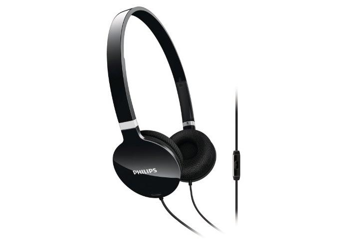 Philips SHL1705BK/10 Lightweight Headset - Black - 1