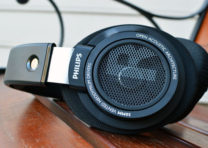 Philips SHP9500 Open Back Headphones - 1