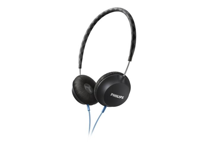 Philips Strada On Ear CitiScape Headband Headphones - Black - 2
