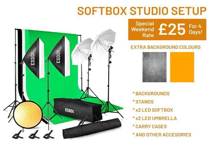 Photography Studio Setup | Budget, Mobile - 1