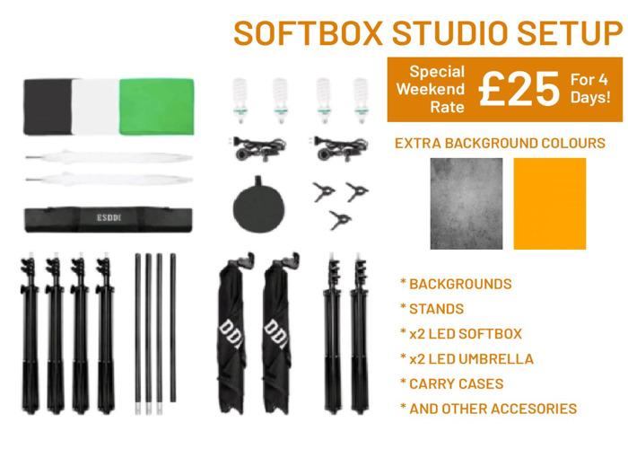 Photography Studio Setup | Budget, Mobile - 2