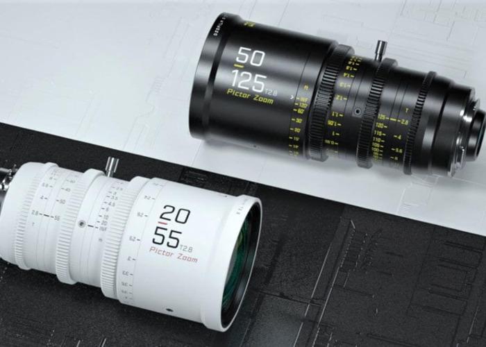 Pictor Zoom 50-125mm / 20-55mm T2.8 cine lens DZO film parfocal  - 2