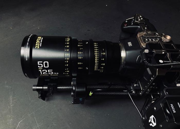 Pictor Zoom 50-125mm / 20-55mm T2.8 cine lens DZO film parfocal  - 1