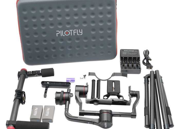 Pilotfly T1 Two-Handed 3-Axis Motorized Gimbal - 2