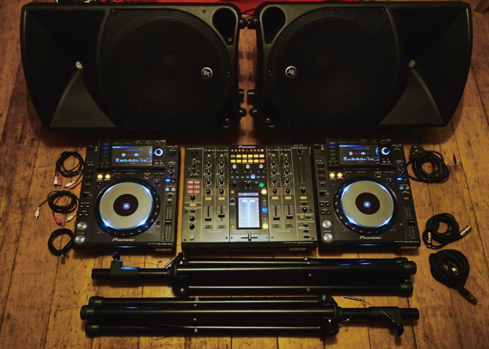 Pioneer CDJ 2000 Nexus, DJM 2000, and Mackie Thump 15s - (Same Day Delivery Available) - 2