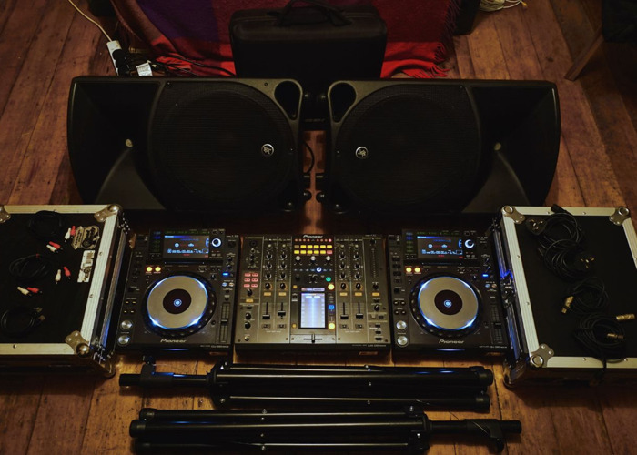 Pioneer CDJ 2000 Nexus, DJM 2000, and Mackie Thump 15s - (Same Day Delivery Available) - 1