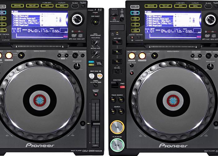 PIONEER CDJ 2000 NEXUS PAIR (PROMO) NXS - 1