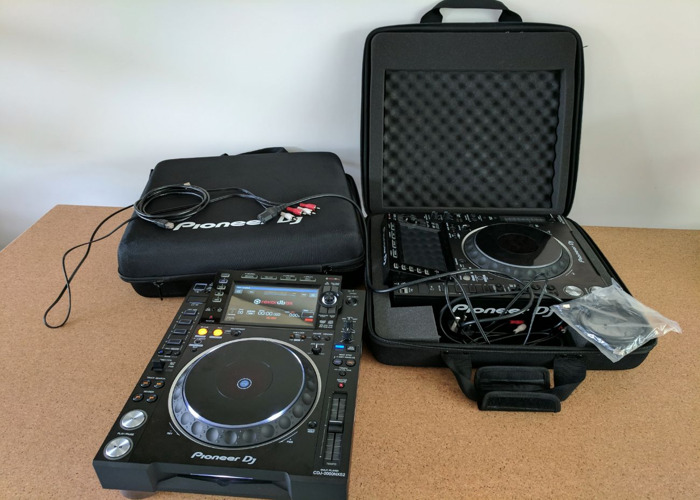 Pioneer CDJ 2000 NX2 Decks (Pair) - 1