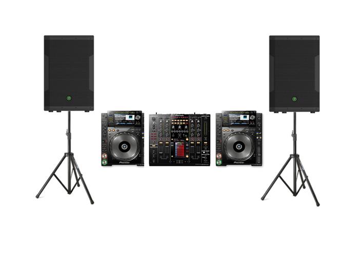Pioneer CDJ Nexus 2000s, DJM 2000, and Mackie SRM 650s (2x1600W) - 1