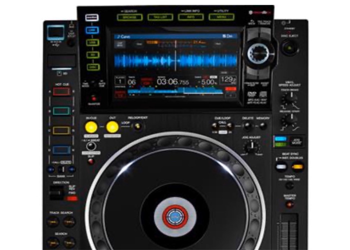 2 x Pioneer CDJ2000 NXS2 - Professional Multiplayer - 1