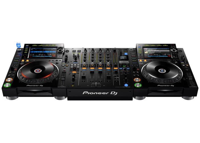 Pioneer CDJ-2000NXS2 Player +DJM-900NXS2 DJ Mixer Controller - 1