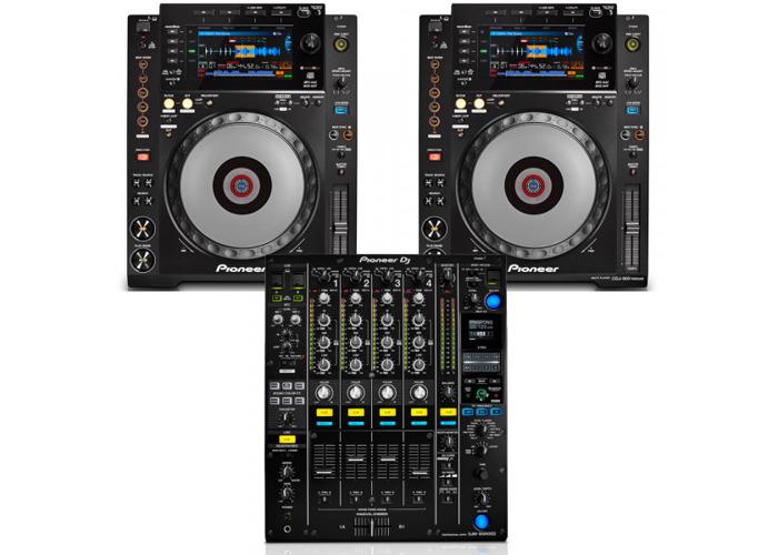 Pioneer CDJ900 Nexus and DJM900 NXS2 bundle - 1