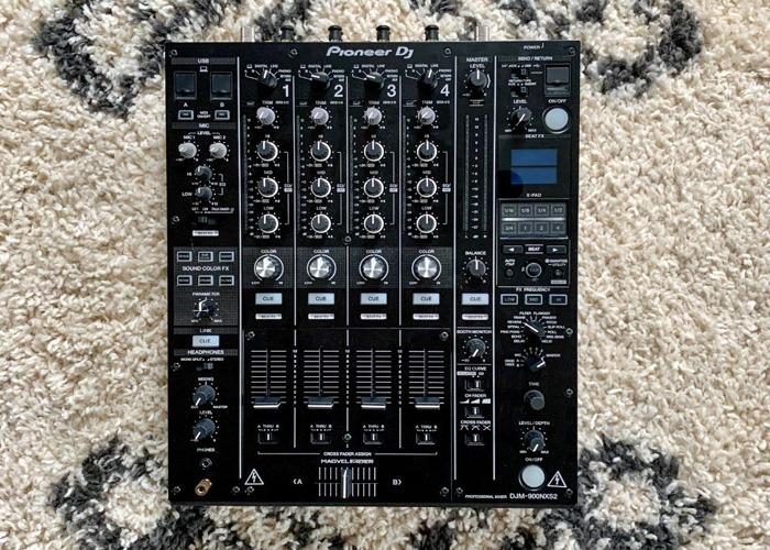 Pioneer DJM-900 NXS2 Professional DJ Mixer - 1