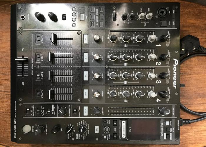Pioneer DJM-900NXS Nexus 4-Channel Club Mixer - 1