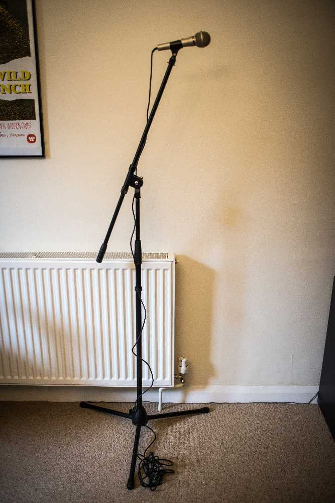 Pioneer DM-21 Dynamic Unidirectional microphone + stand - 2