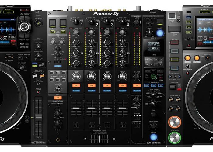 Pioneer NXS2 Full Setup (DJM-900 NXS2, 2x CDJ 2000 NXS2) - 2