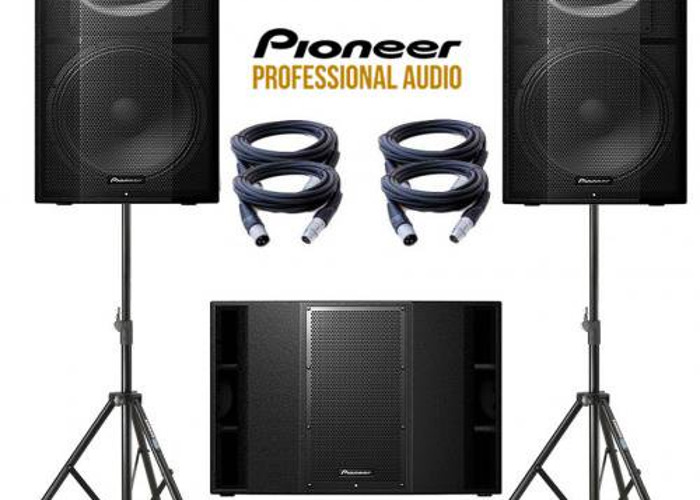Rent Pioneer Pro Audio Sound System - XPRS12 215 Large Speakers in London