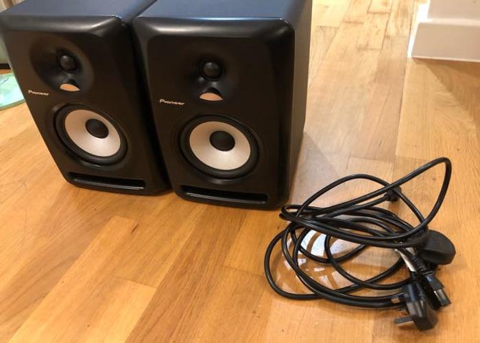 Pioneer S-DJ50X (Pair) w/stands - 2