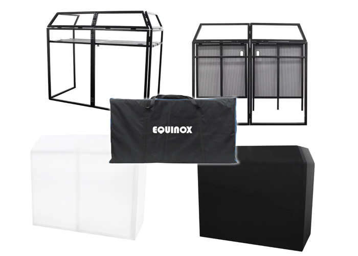 DJ PACKAGE: Pioneer Controller, Alto speakers and Equinox Booth - 2