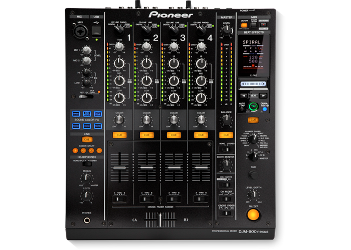 Pioneer XDJ 1000 Mk2 (CDJs) and DJM 900 Nexus  - 2