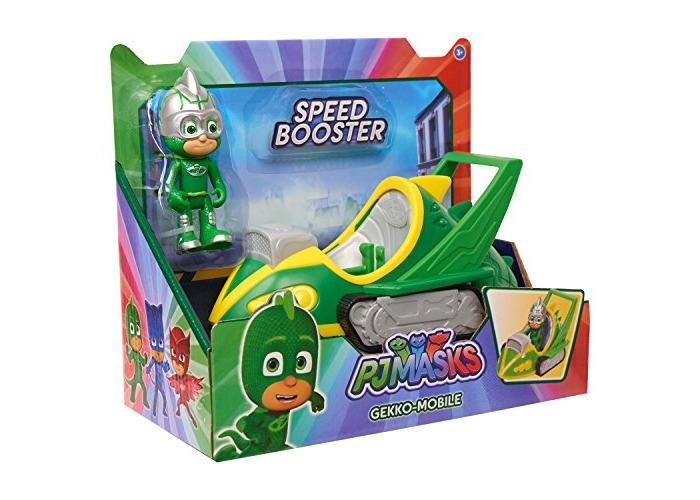 PJ Masks Speed Booster Vehicle & Figure - Gekko - 2