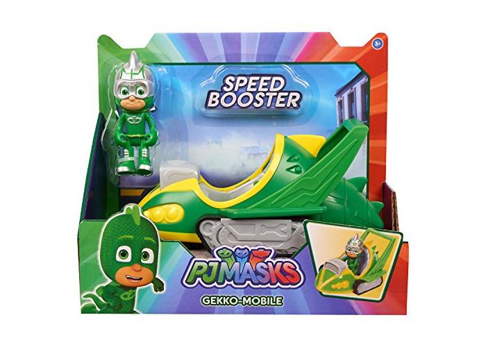 PJ Masks Speed Booster Vehicle & Figure - Gekko - 1