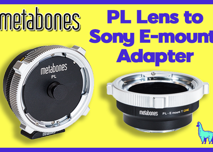PL Lens to Sony E-mount T Adapter - 1