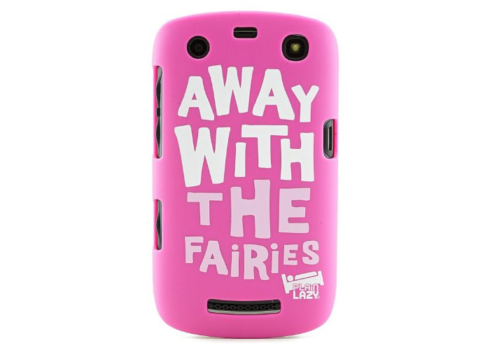 Plain Lazy Case for BlackBerry 9360 - Away with the Fairies - 1