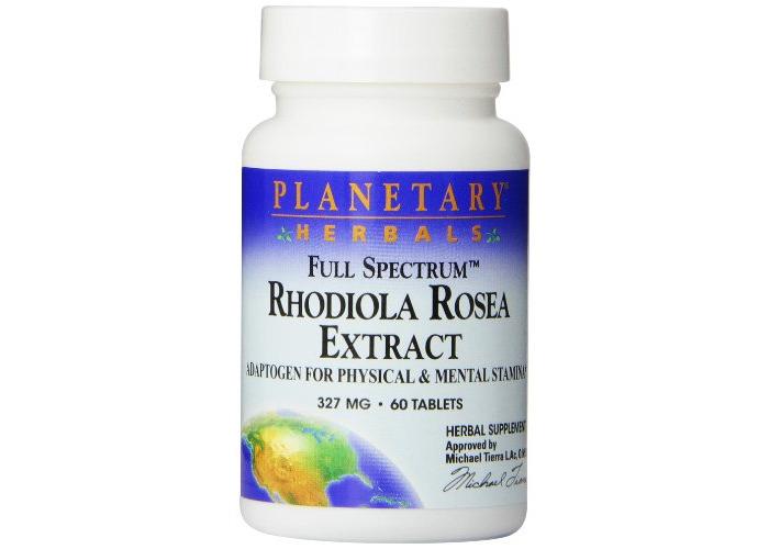 Planetary Formulas Full Spectrum Rhodiola Rosea Extract (327mg) 60 tabs - 1