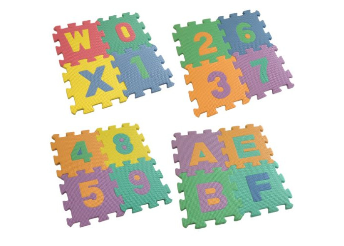 Playmat Alphabet & Numbers For Children In The Home or Garden - 2