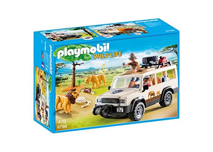 Playmobil 6798 Wildlife Safari Truck with Lions - 1
