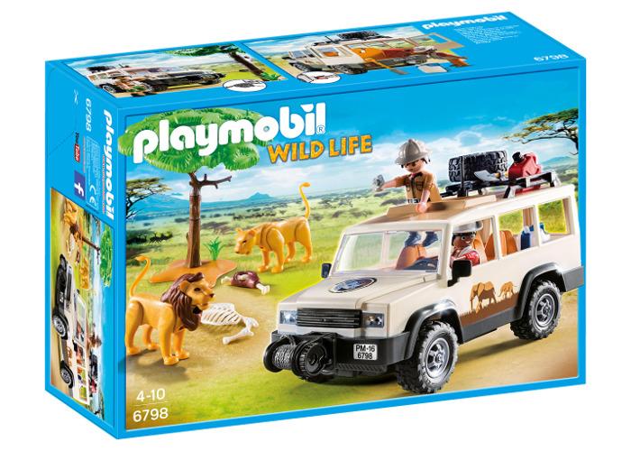 Playmobil 6798 Wildlife Safari Truck with Lions - 2