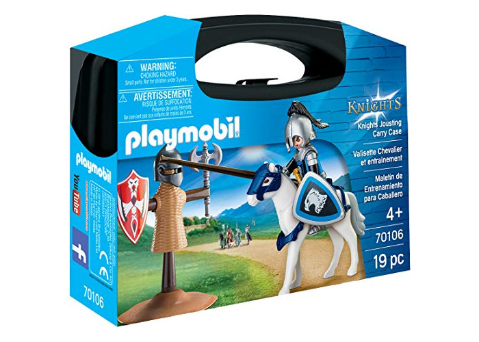 Playmobil 70106 Knights Jousting Carry Case - 1