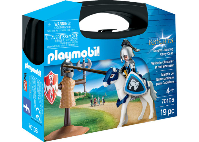 Playmobil 70106 Knights Jousting Carry Case - 2