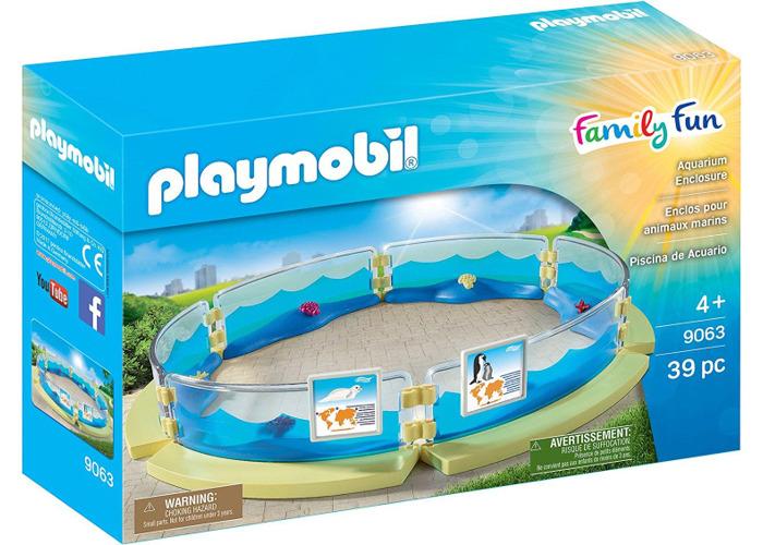 Playmobil Family Fun Aquarium Enclosure 9063 - 1