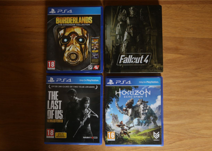 PlayStation PS4 Games - 1