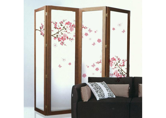 Plum Blossom Butterfly Wall Stickers Removable Decal Home Art Decor Wall Vinyl - 1