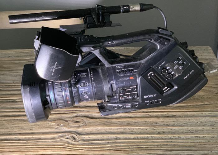 PMW EX3 Full Camera Kit (tripod, radio mic, top light..plus) - 1