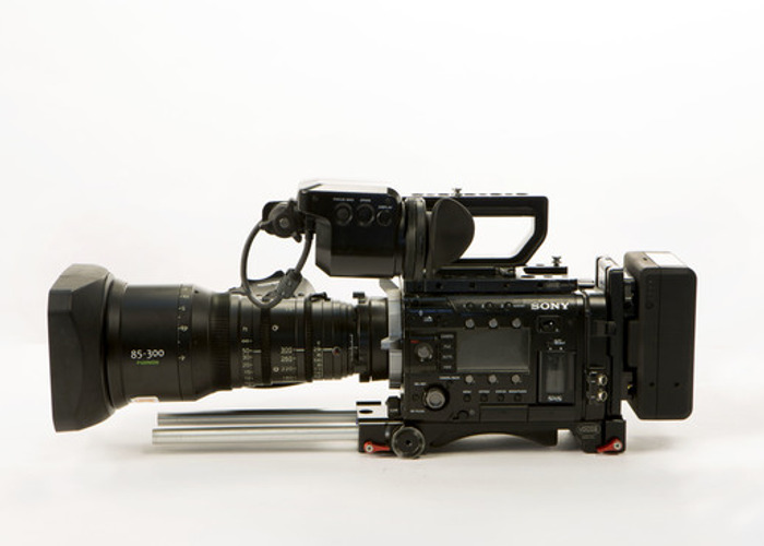 Sony F55 CineAlta 4K Digital Cinema Camera with RAW Recorder - 1