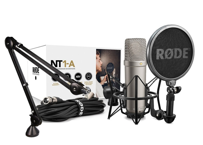 Podcast, Voiceover, Mic, ADR Setup (15% Actor's Discount) - 1